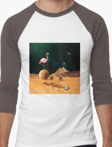 Mars Scape Men's Baseball ¾ T-Shirt