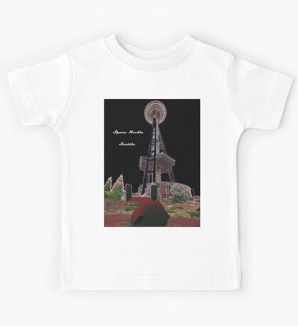 Space Needle, Seattle,Washington, USA Kids Tee