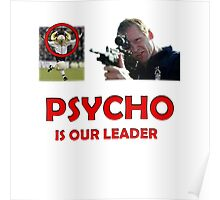 Psycho is our leader NFFC Poster