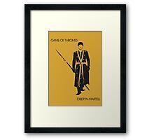 Oberyn Framed Print