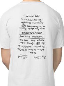 Mad Max: Fury Road - Back TATTOO (Upside Down) Classic T-Shirt
