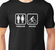 Problem Solved Cycling Unisex T-Shirt