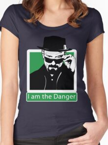 """I am the Danger"" _ Heisenberg Women's Fitted Scoop T-Shirt"