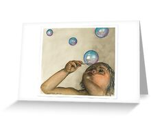 Bubble Bliss Greeting Card