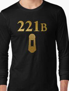 "Sherlock Holmes ""221B"" Long Sleeve T-Shirt"