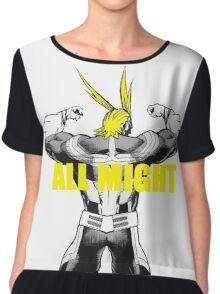 ALL MIGHT Women's Chiffon Top