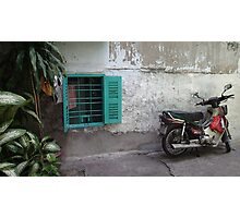 Back Streets of Vietnam Photographic Print