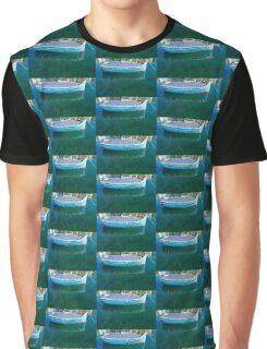 Crystal Clear Mediterranean Blue - Sea Boy at Anchor Graphic T-Shirt