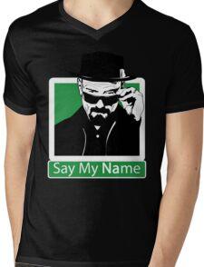 Heisenberg - SAY MY NAME Mens V-Neck T-Shirt