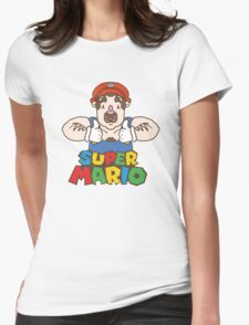 ★ SUPER MARIO ★ Womens Fitted T-Shirt