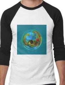 Reflections in the globe Men's Baseball ¾ T-Shirt