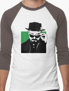 HEISENBERG, is watching you. Men's Baseball ¾ T-Shirt