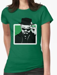 HEISENBERG, is watching you. Womens Fitted T-Shirt