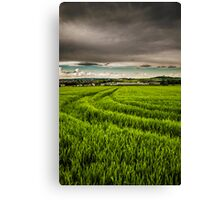 Dark moody sky Canvas Print