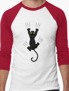 Cat Men's Baseball ¾ T-Shirt