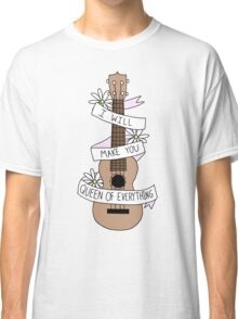 Ukulele Song Lyrics Classic T-Shirt
