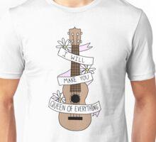 Ukulele Song Lyrics Unisex T-Shirt