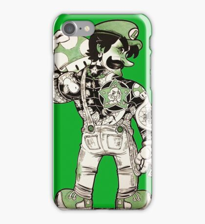 Yakuza Luigi iPhone Case/Skin