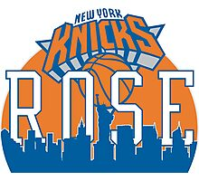welcome NYC Derrick Rose Photographic Print