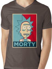 RICK SANCHEZ MORTY Mens V-Neck T-Shirt