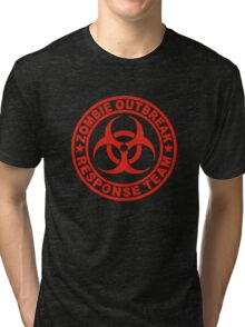 Zombie Outbreak Response Team Tri-blend T-Shirt
