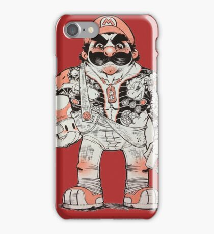 Yakuza Mario iPhone Case/Skin