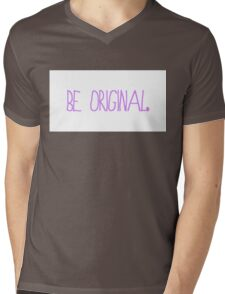Be Original Mens V-Neck T-Shirt
