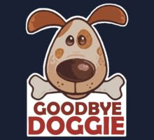 Goodbye Doggie (Orange) Kids Tee
