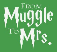 From Muggle to Mrs Kids Tee