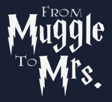 From Muggle to Mrs One Piece - Long Sleeve
