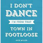 New Girl Nick Miller I Don't Dance  by hopealittle