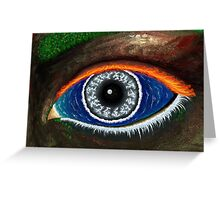 The Eye of Mother Nature Greeting Card
