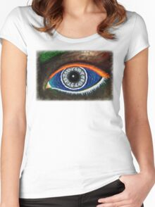 The Eye of Mother Nature Women's Fitted Scoop T-Shirt