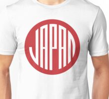 Japan - japanese round design symbol Unisex T-Shirt