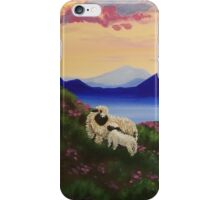 Blue Mountain Valais Sheep iPhone Case/Skin
