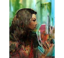 Lara Croft Photographic Print
