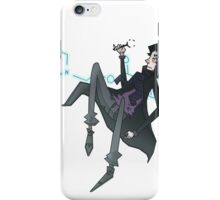 Sherlock Floats iPhone Case/Skin