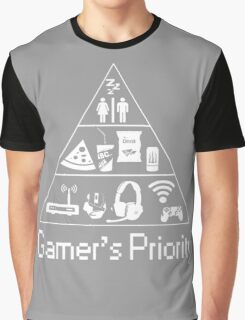Gamer's Priority Graphic T-Shirt