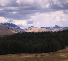 Precipitation over Beinn Eunaich by Tim Haynes