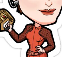Star Trek DS9 - Major Kira Nerys Bajoran Sticker