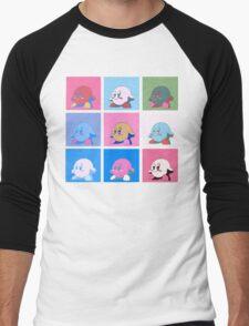 Kirby in warhol land Men's Baseball ¾ T-Shirt