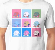 Kirby in warhol land Unisex T-Shirt
