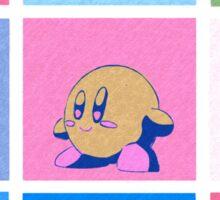Kirby in warhol land Sticker