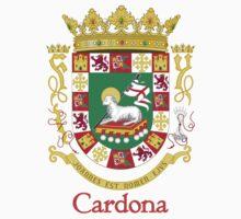 Cardona Shield of Puerto Rico Kids Tee