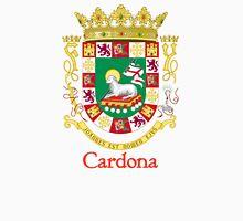 Cardona Shield of Puerto Rico Unisex T-Shirt