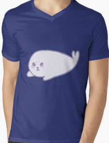 Cute Seal Mens V-Neck T-Shirt