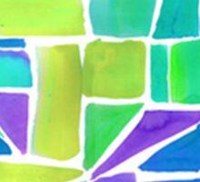 Arizona State Outline Geometric Sticker