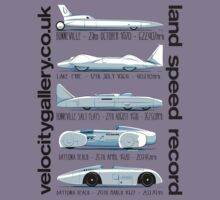 Land Speed Record Cars Kids Clothes