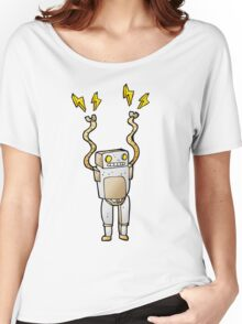 Excited Robot Women's Relaxed Fit T-Shirt