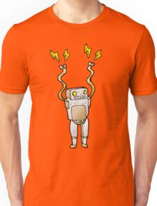 Excited Robot Unisex T-Shirt